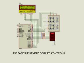 Điều khiển hiển thị Lcd bàn phím với PIC16F877