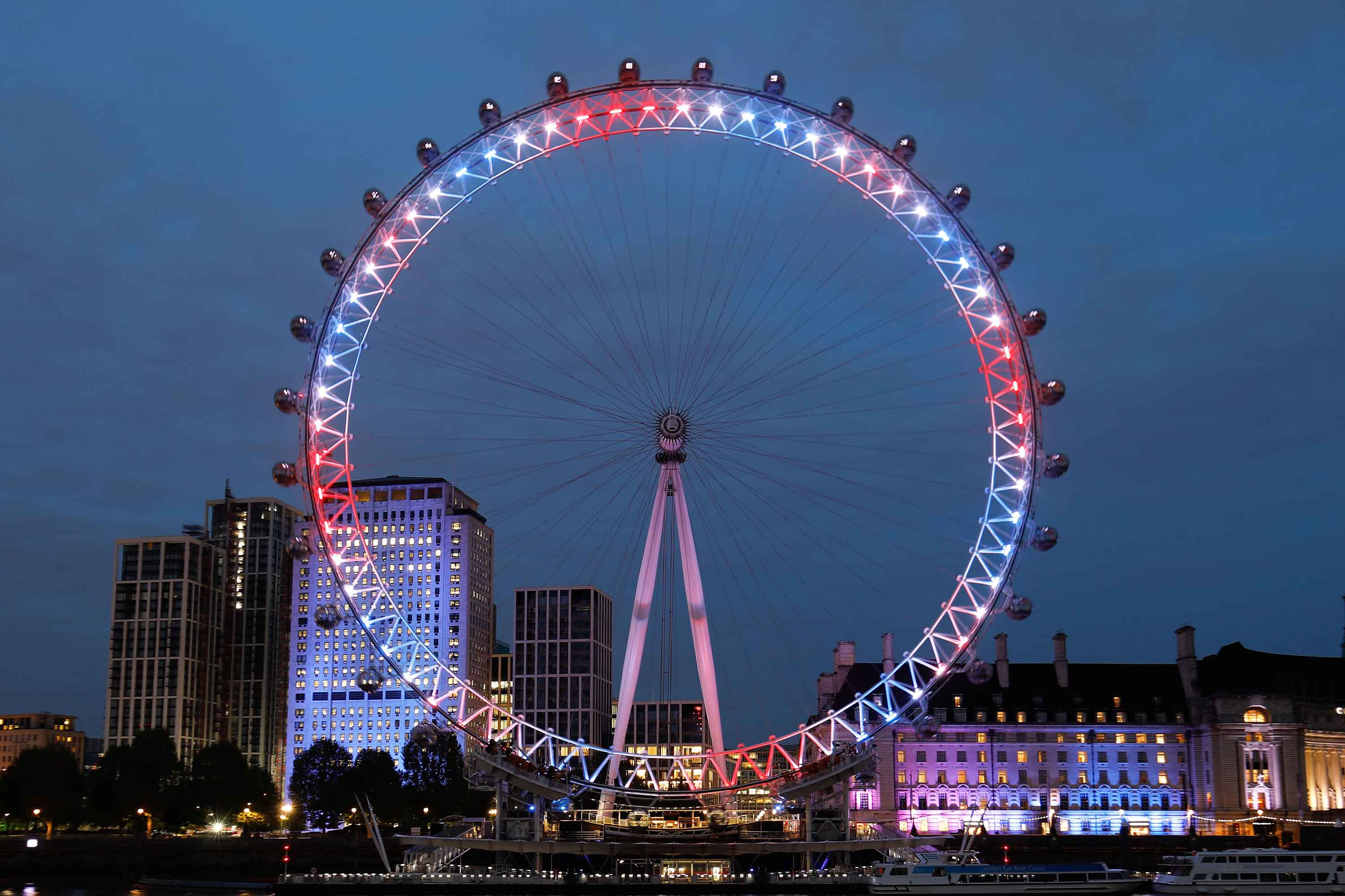London Eye Rotates Backwards For First Time Cnn Travel Images, Photos, Reviews