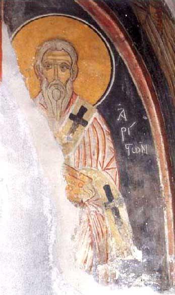 IMG ST. ARISTON the Wonderworker, Bishop of Arsinoe, Cyprus (Famagusta)