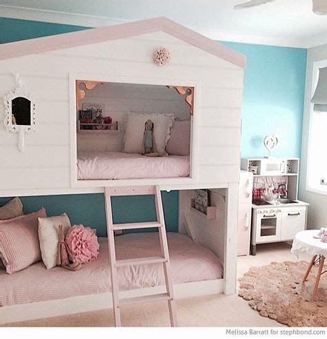 bondville amazing loft bunk bed room   girls