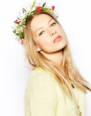 Image 1 ofRock 'N Rose Harriet Strawberries Floral Crown