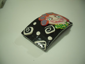 Polymer Clay Cane Face