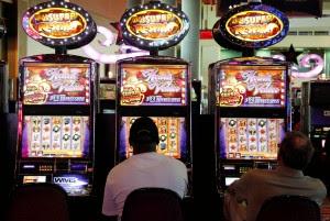 Casino slot machine malfunction