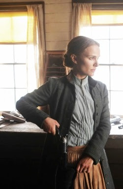 Production Stills of Natalie Portman in 'Jane Got A Gun'