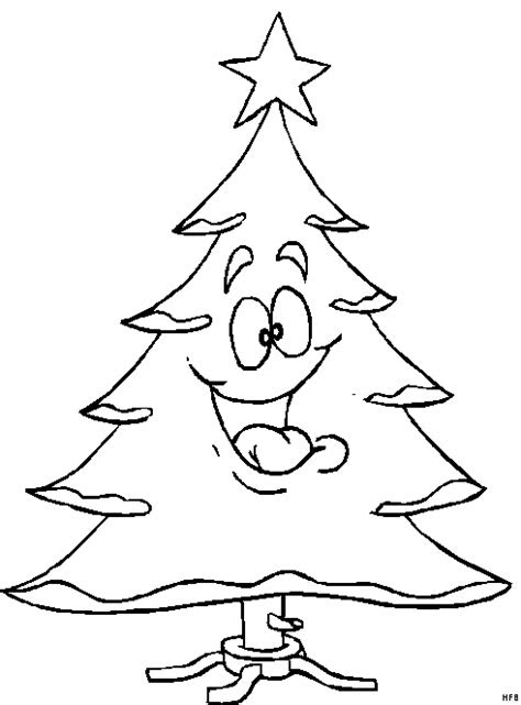 ausmalbilder weihnachten tannenbaum  kostenlose