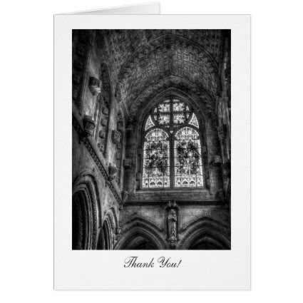 Above The Chapel Altar - Thank You Card