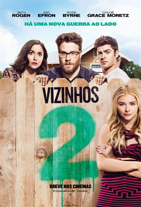 Vizinhos 2 : Poster