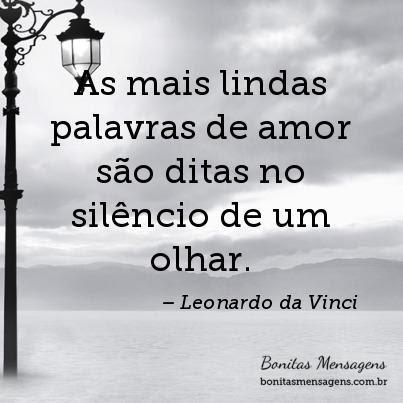 As Mais Lindas Palavras De Amor São Ditas No Silêncio De Um Olhar