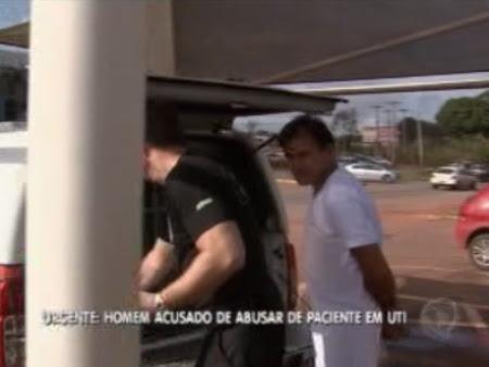 O técnico em enfermagem Franciso das Chagas Coutinho, de 47 anos, é acusado de estuprar uma paciente cega na UTI do hospital