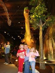 Family eaten by dinosaur