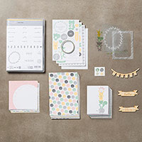 Hello Baby Girl Project Life Bundle  by Stampin' Up!