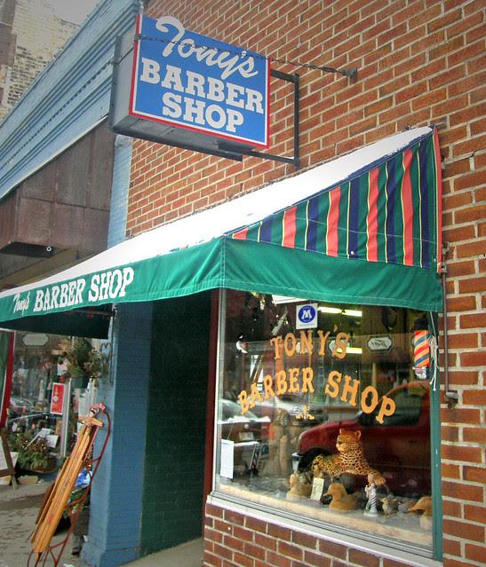 Tony's Barber Shop