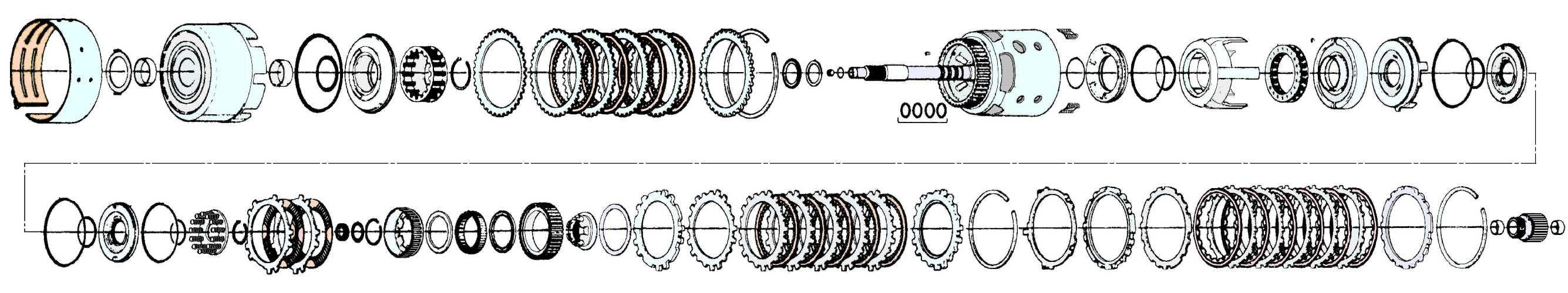 27 4l60e Wiring Harness Diagram