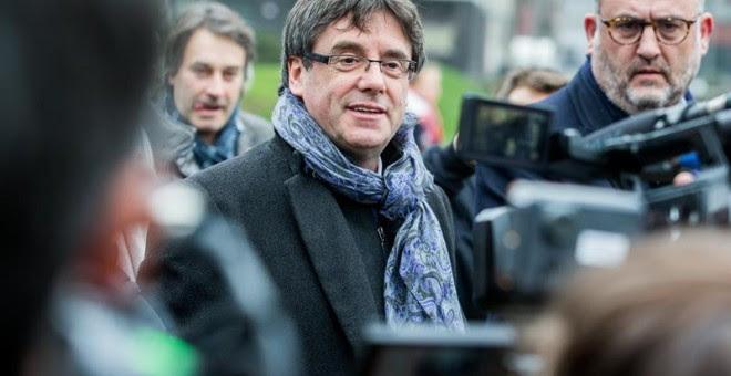 El president catalán cesado Carles Puigdemont. - EFE