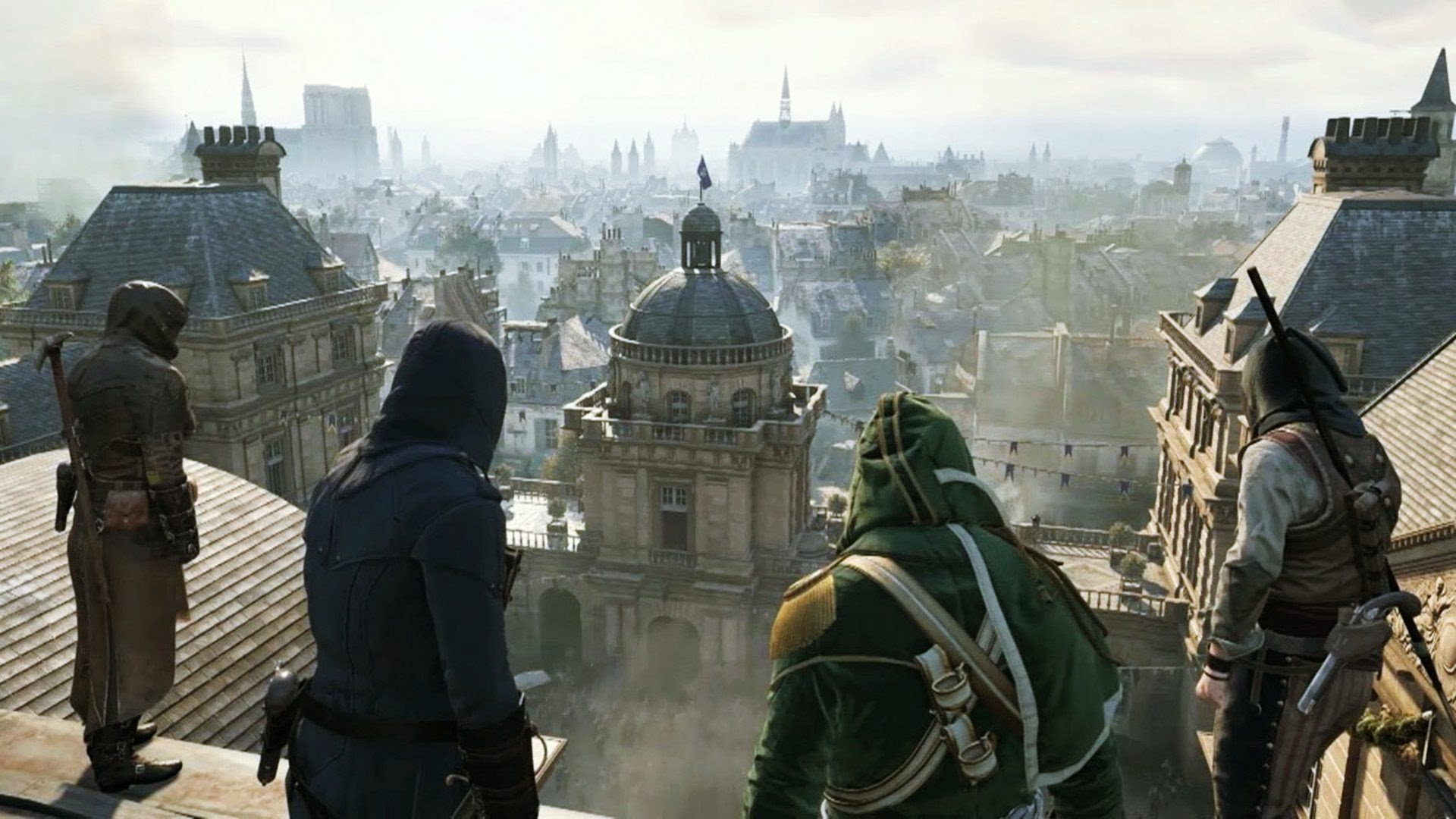 Assassins Creed Unity Wallpaper Hd Games Wallpaper Altilici