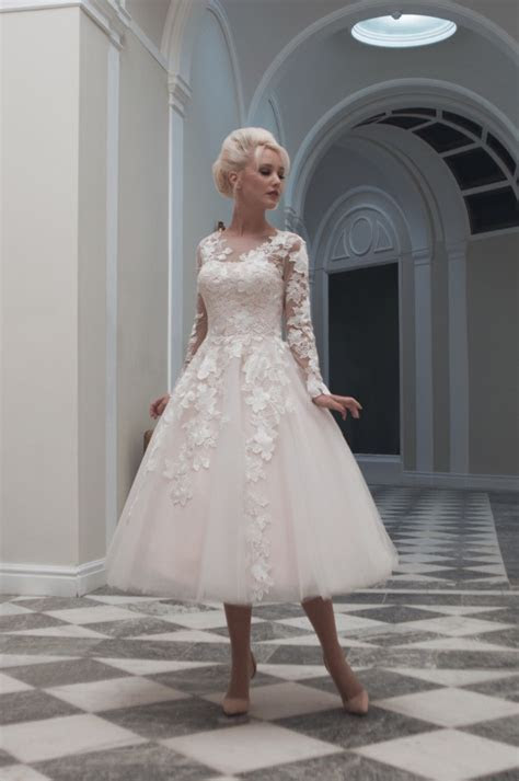25 Of The Most Beautiful Tea Length Short Wedding Dresses