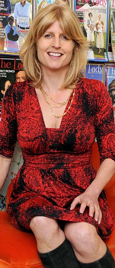 Rachel Johnson, editor of The Lady magazine, was dumped twice by friends when she was younger