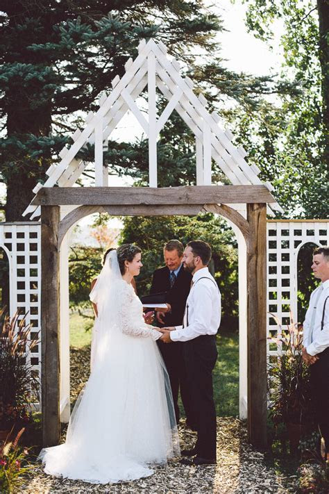 Melodie and Tim's Intimate Backyard Wedding in Ontario