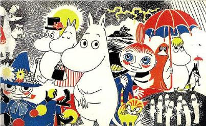 How to crochet a Moomin?