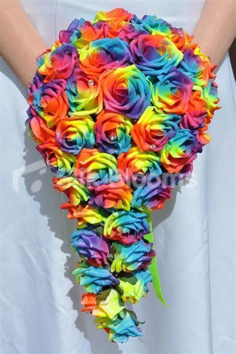 Best 25  Rainbow flowers ideas on Pinterest   DIY jewelry
