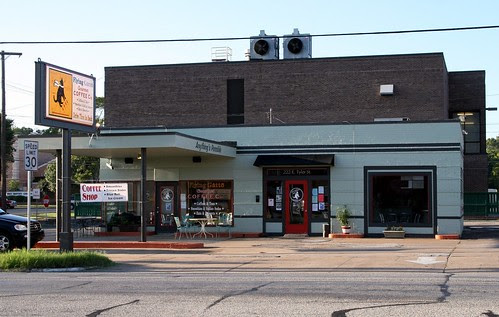 former gas station in athens