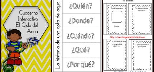 Ciclo Del Agua Para Colorear Imagenes Educativas
