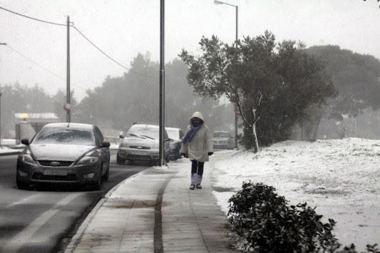 Πολικές θερμοκρασίες και χιόνια ακόμη και στην Αττική - Που θα `χτυπήσει` το νέο κύμα κακοκαιρίας