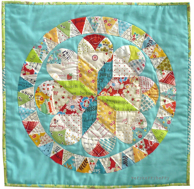 Brit Quilt: Summer Medallion Quilt