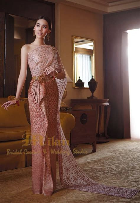 267 best Thai Wedding Dress images on Pinterest   Thai