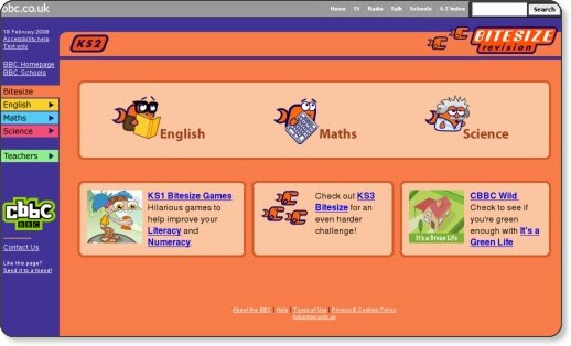 http://www.bbc.co.uk/schools/ks2bitesize/index.shtml