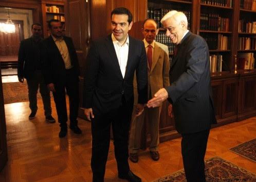 Τηλεφώνημα Τσίπρα στον Πρόεδρο της Δημοκρατίας - Όλα τα ενδεχόμενα ανοιχτά - Το ψυχολογικό όριο των 120 βουλευτών