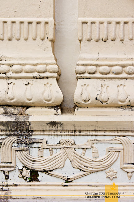 Wall Details at the Kalibo Cathedral