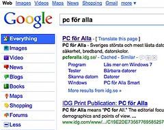 Googles nya utseende