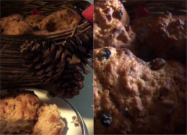 Afternoon: Experimenting With Light With Mincemeat Muffins