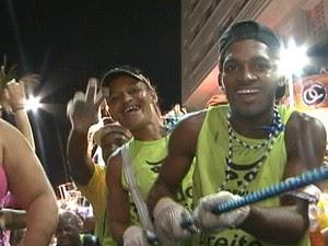 cordeiros no carnaval de salvador (Foto: G1)