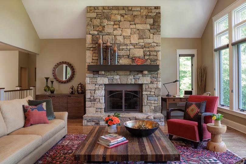 Living + Family Rooms | Allard + Roberts Interior Design
