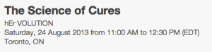 Science of Cures EventBrite