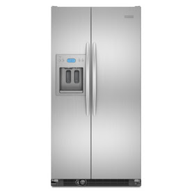 KitchenAid 24.5 Cu. Ft. Side-by-Side Counter-Depth Refrigerator (Color: Stainless Steel) ENERGY STAR&#74