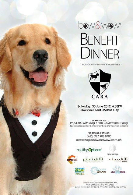 bow and wow benefit dinner