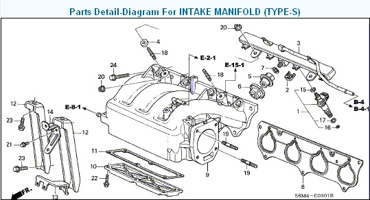 acura rsx k20a2 engine diagram wiring diagram networks 91 Acura Integra Fuse Box Diagram