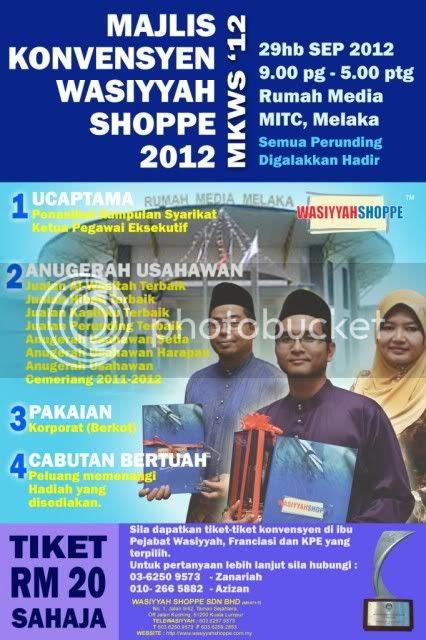 Konvensyen Wasiyyah Shoppe 2012