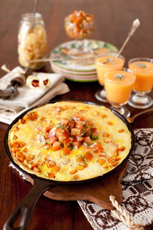Sweet Potato Frittata 4