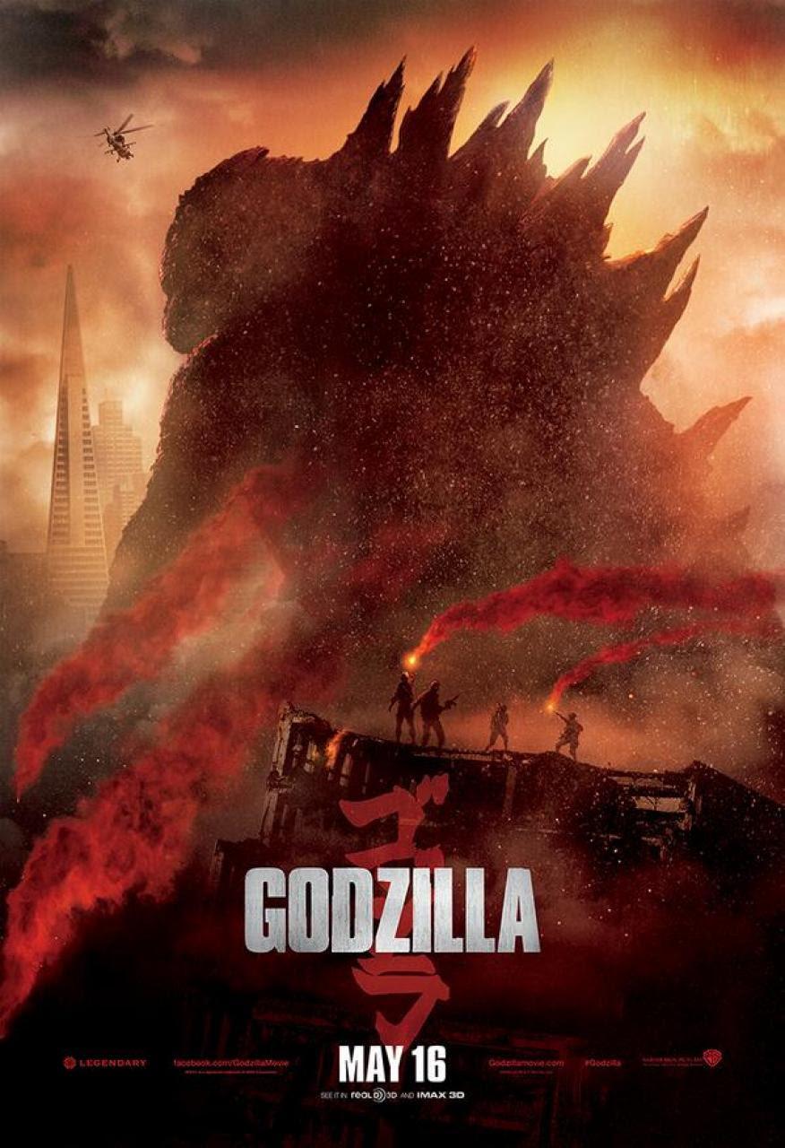 Godzilla (2014) Movie Trailer, Release Date, Cast, Plot, Posters