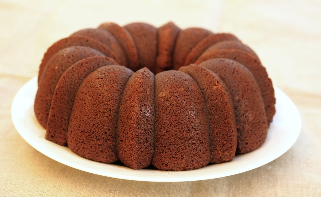 Kahlua Vodka Chocolate Bundt Cake