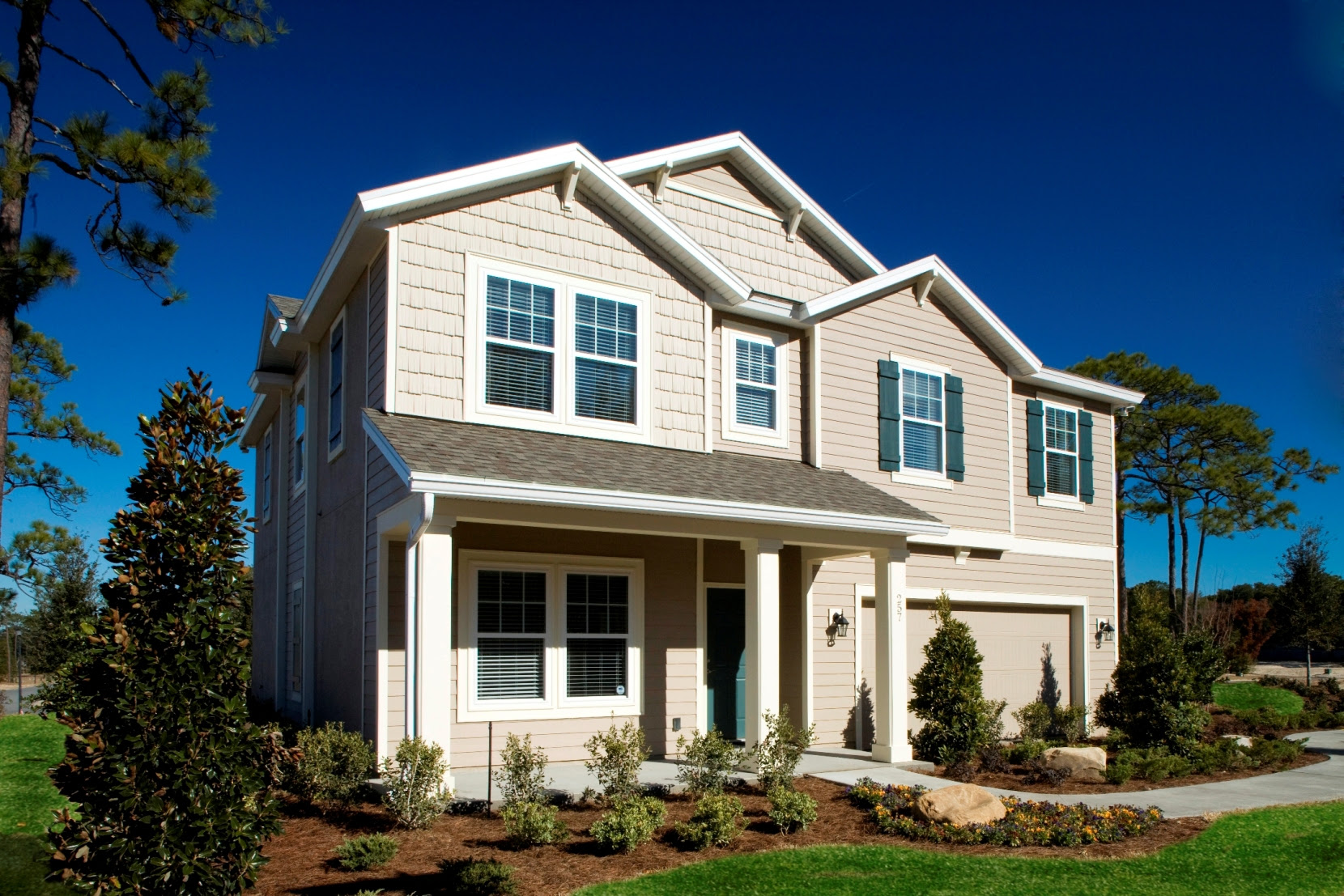 The Clover Model Home at Cedar Bay
