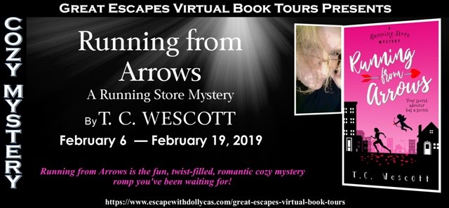 A Chick Who Reads Great Escapes Book Tours Book Review Running