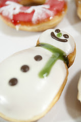 Snow Man, Holiday Dozen Box, Krispy Kreme Doughnuts, Shinjuku