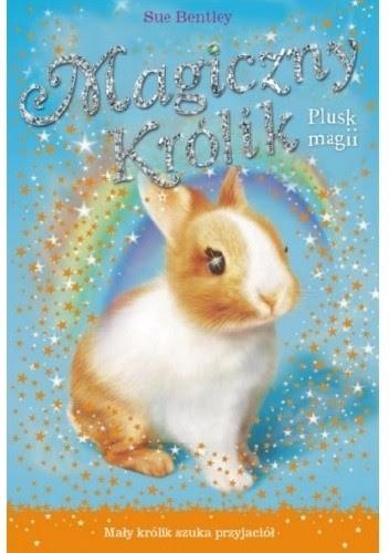 Okładka książki Magiczny królik. Plusk magii