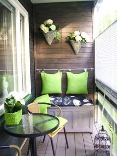 Apartment Balcony Decorating on Pinterest
