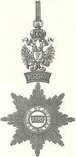 Commandeurskruis en Ster Orde van de Kroon IJzeren Oostenrijk.jpg